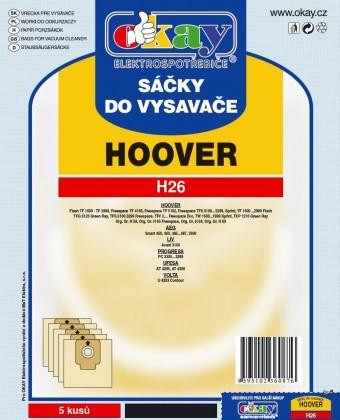 Sáčky do vysavače Sáčky do vysavače Hoover H26 10ks