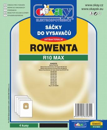 Sáčky do vysavače Sáčky do vysavače Rowenta R10 MAX, 8ks