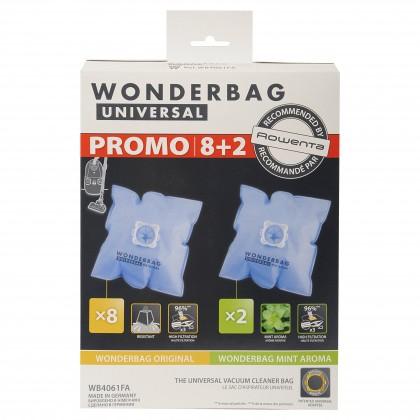 Sáčky do vysavače Sáčky do vysavače Rowenta Wonderbag Original 8x + Mint Aroma 2x