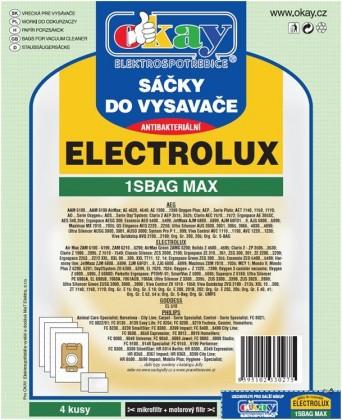 Sáčky do vysavače Sáčky do vysavačů Electrolux S-bag MAX antibakteriální 8ks