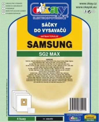 Sáčky do vysavače Samsung SG2MAX, 4ks