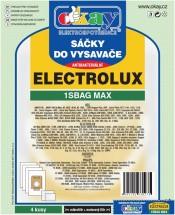 Sáčky do vysavačů Elektrolux S-bag MAX antibakteriální 8ks