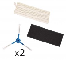 Sada kartáčů a filtrů Rowenta ZR720001k Serii 40, 2+2