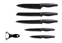 Sada nožů 5 ks + škrabka