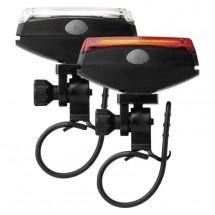 Sada svítilen na kolo Emos P3922,  přední a zadní LED
