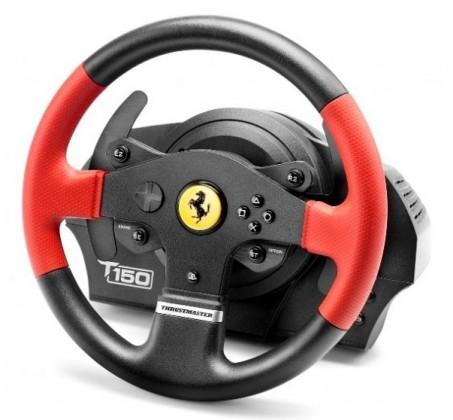 Sada volantu a pedálů T150 Ferrari, Trustmaster (4160630)