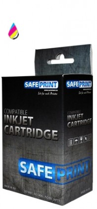 SAFEPRINT inkoust HP F6V24AE|c.652|Color|18ml|720str 2701001230