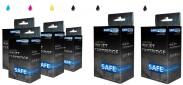 SAFEPRINT MPP Canon PGI-520BK+CLI-521|2xBK+PBK+CMY|2701000020