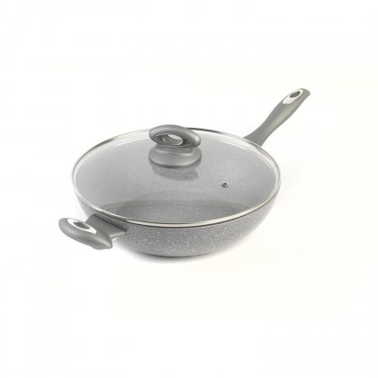 Salter Marble Collection 28cm WOK