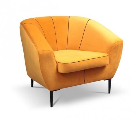 Samostatná křesla Křeslo Ladon oranžová