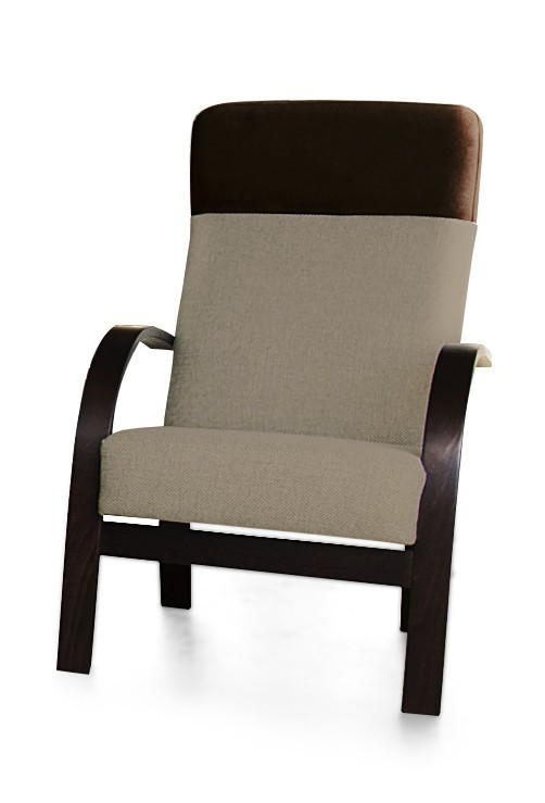 Samostatné křeslo Laura - křeslo (sedák - orinoco 24/pruh - eko kůže)