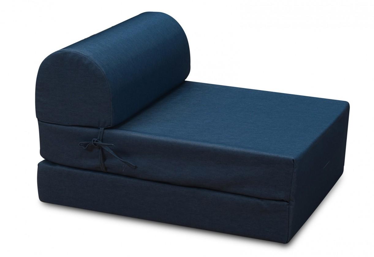 Samostatné křeslo Marino-křeslo,rozkládací (jeans blue ,sk. MR-1)