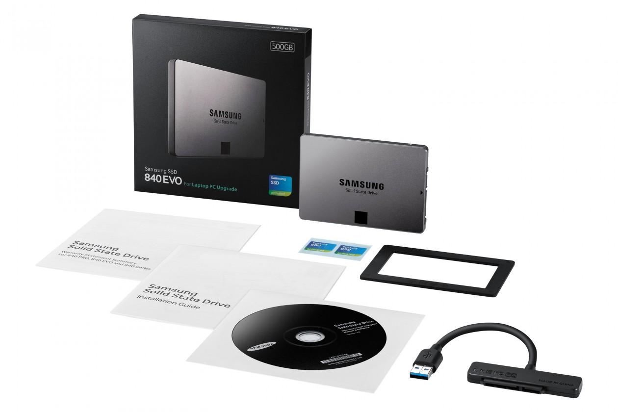 Samsung 840 EVO SATAIII Laptop 500GB