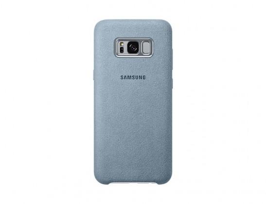 Samsung Alcantara Cover pro S8+ (G955) Mint