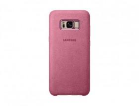 Samsung Alcantara Cover pro S8+ (G955) Pink