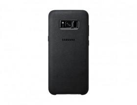 Samsung Alcantara Cover pro S8+ (G955) Silver/Gray