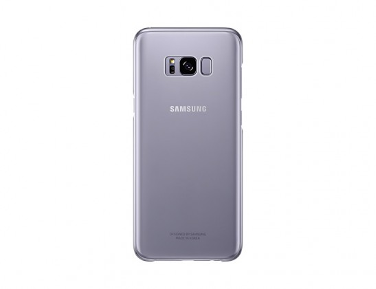 Samsung Clear Cover pro S8+ (G955) Violet