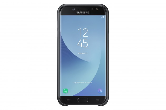Samsung Dual Layer Cover J5 2017, black