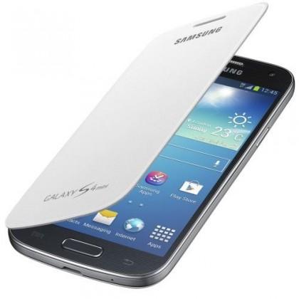 Samsung EF-FI919BW Galaxy S4 mini pouzdro, bílé