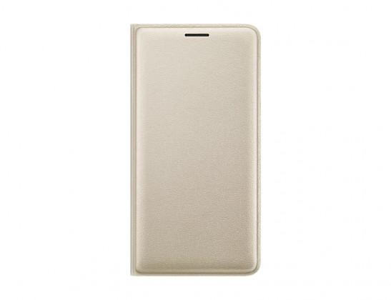 Samsung flip pouzdro pro Galaxy J3, zlatá