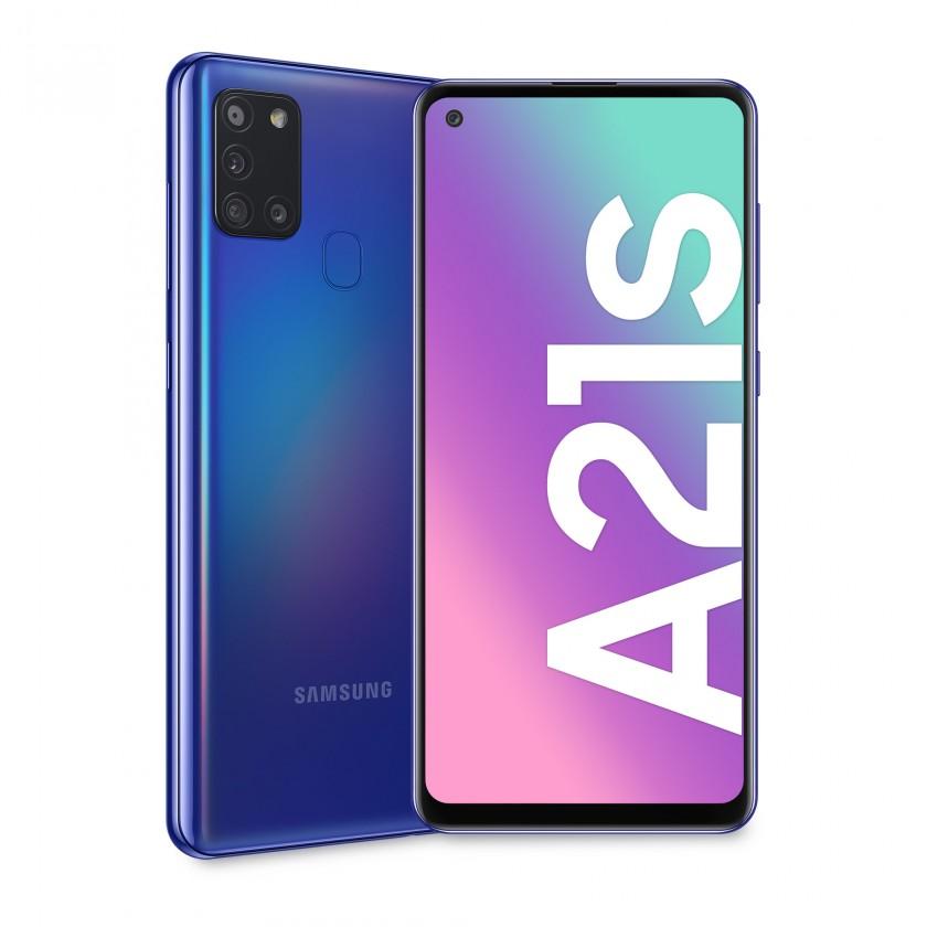 Samsung Galaxy A Mobilní telefon Samsung Galaxy A21s 3GB/32GB, modrá