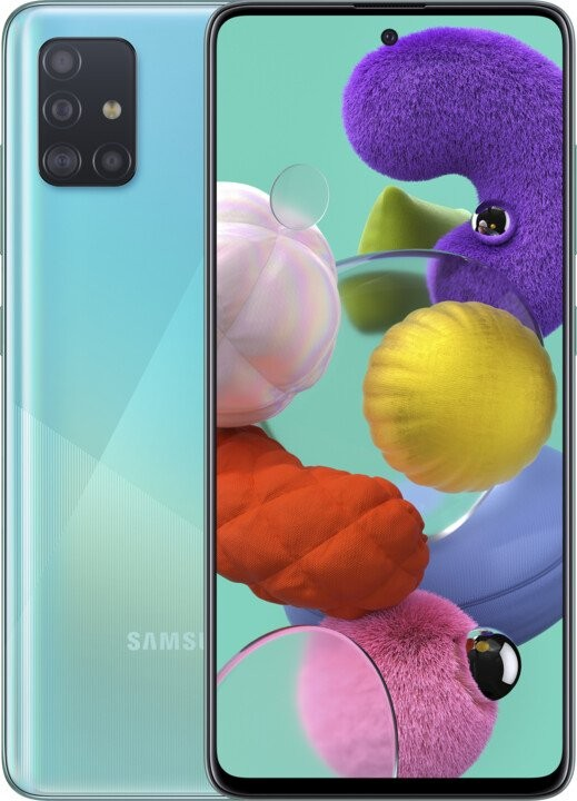 Samsung Galaxy A Mobilní telefon Samsung Galaxy A51 4GB/128GB, modrá
