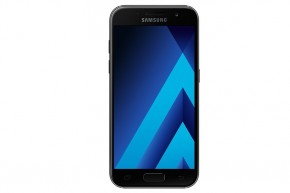 Samsung Galaxy A3 2017, černá + kryt jako dárek