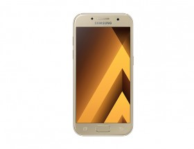 Samsung Galaxy A3 2017, zlatá