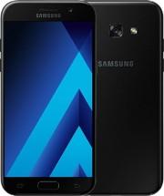 Samsung Galaxy A5 2017, černá + flipové pouzdro