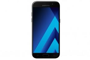 Samsung Galaxy A5 2017, černá +microSD 32GB, powerbanka a držáka do auta