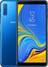 Samsung Galaxy A7  SM-A750 Blue + dárky