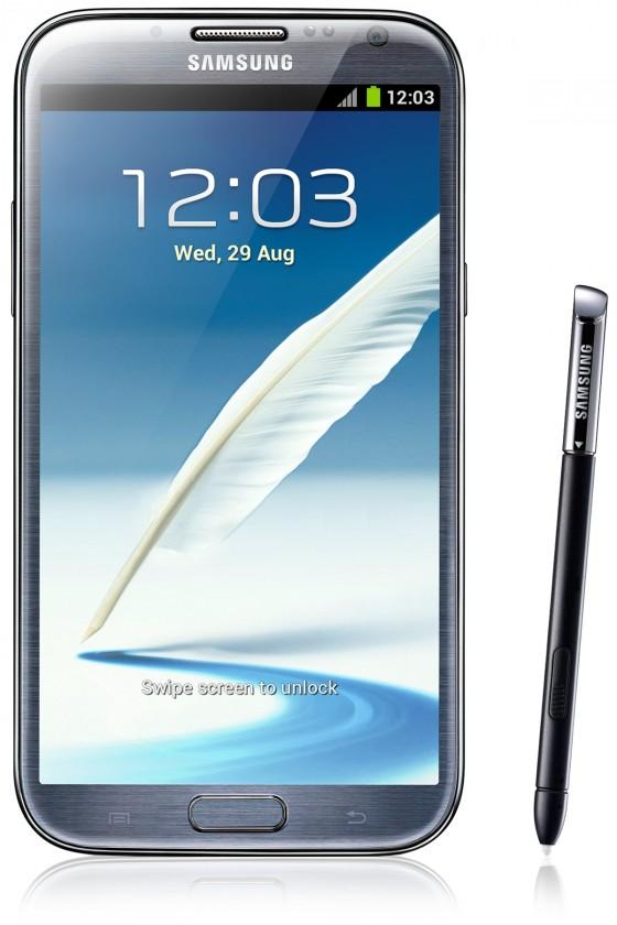 Samsung Galaxy Note II (N7100), šedý ROZBALENO