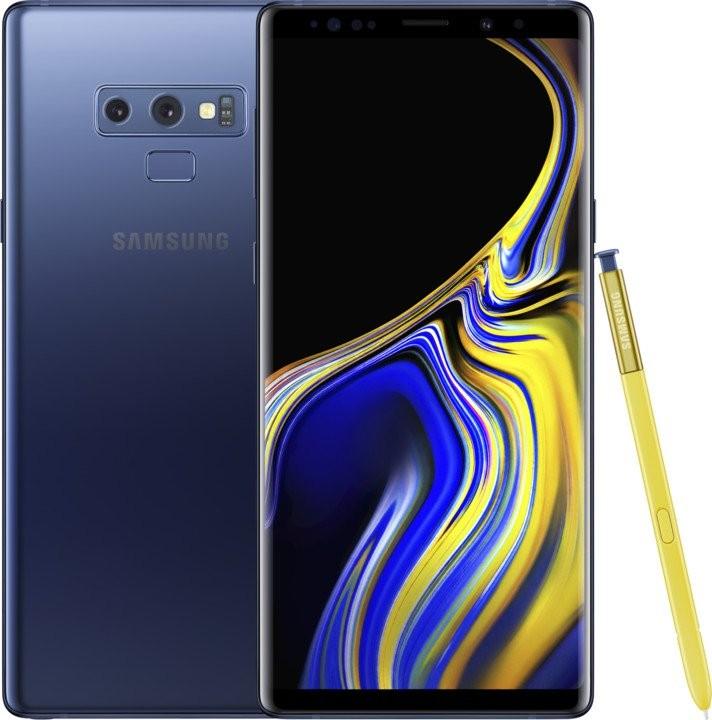 Samsung Galaxy Note Mobilní telefon Samsung Galaxy Note 9 6GB/128GB, modrá
