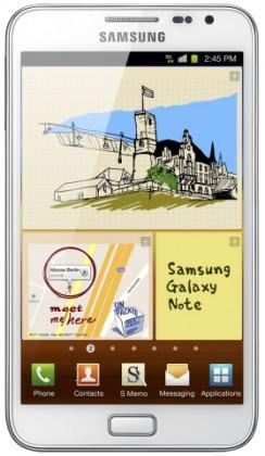 Samsung Galaxy Note (N7000), bílý