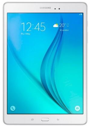 "Samsung Galaxy Tab A LTE, 9.7"" - 16GB, bíla - (SM-T555NZWAXEZ)"