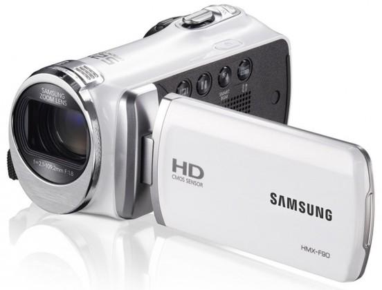 Samsung HMX-F90, bílá