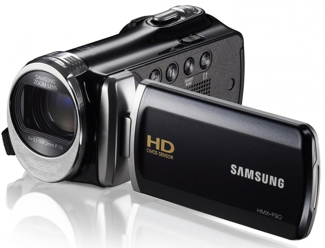 Samsung HMX-F90, černá