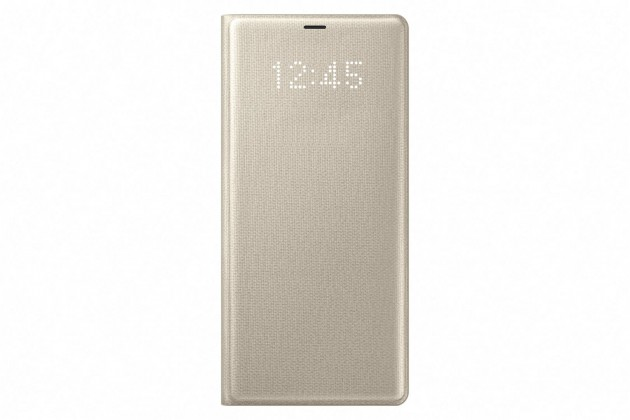 Samsung LED View Cover pro NOTE 8 Gold