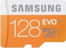 Samsung micro SDXC 128GB Class 10 EVO + SD adaptér