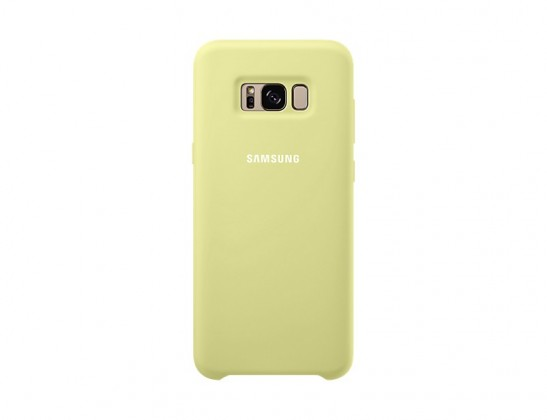 Samsung Silicone Cover pro S8+ (G955) Green