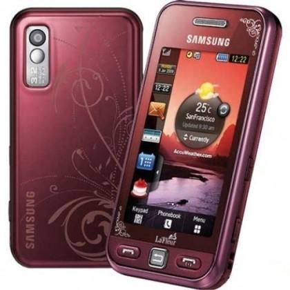 Samsung Star (S5230), červený