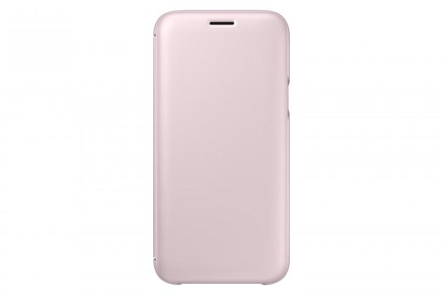Samsung Wallet Cover J5 2017, pink