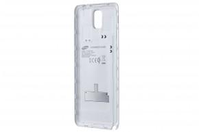 Samsung zadní kryt (bezdrát. nabíjení) pro Galaxy Note 3,bílá