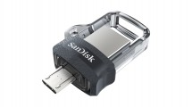 SanDisk Flash Disk 32GB Dual USB Drive m3.0 Ultra