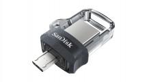 SanDisk Flash Disk 64GB Dual USB Drive m3.0 Ultra