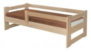 Sante - rám postele se zábranou (rozměr ložné plochy - 200x90)
