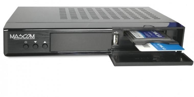 Satelitní přijímač Mascom MC 4300HDCI