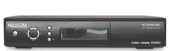 Satelitní příjímač Mascom MC2600HD IRCI ROZBALENO