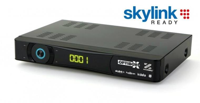Satelitní příjímač Optibox miniZebra HD