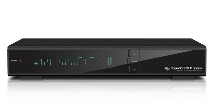 Satelitní příjímač Satelitní přijímač AB Cryptobox ABCR752HD, 752HD DVB-T2/S2/C